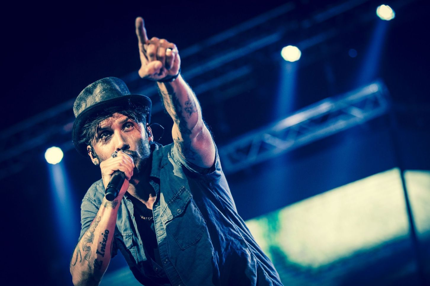 Fabrizio Moro in concerto allo Stadio Olimpico