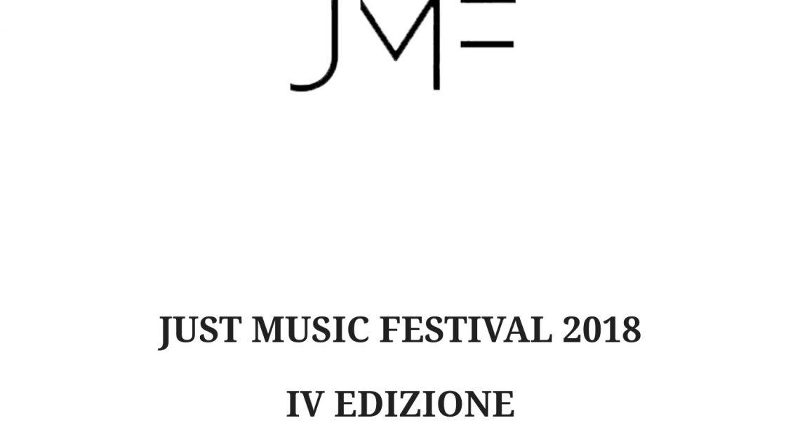 Al via alla quarta edizione del Just Music Festival