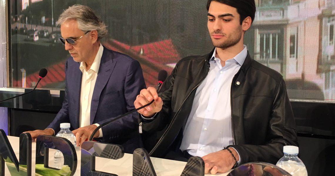 """Andrea Bocelli: """"A Matteo non consegno alcun testimone, il mio è un augurio paterno"""""""