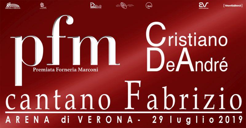 La Premiata Forneria Marconi all'Arena di Verona