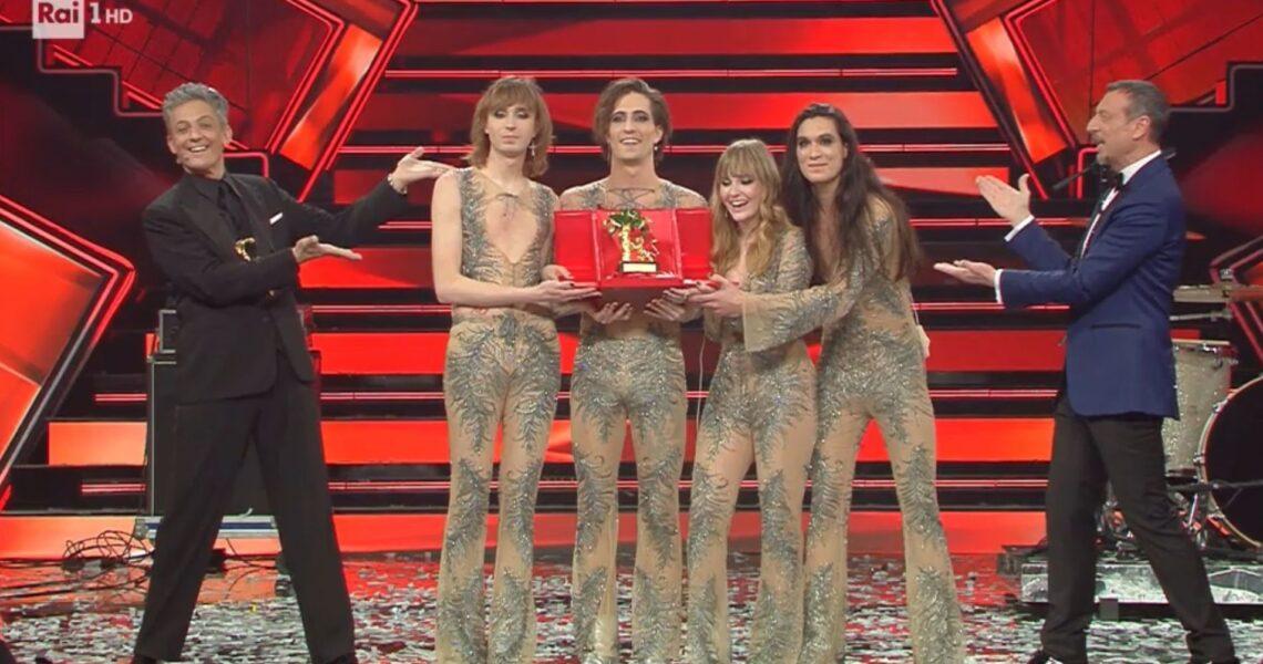 I Maneskin vincono la 71° edizione del Festival della canzone Italiana